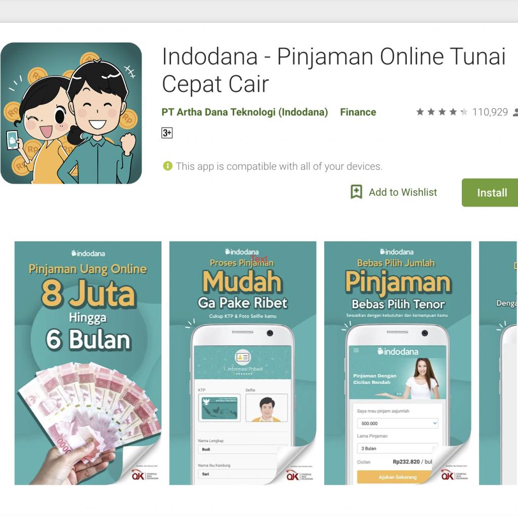Indodana Pinjaman Online Cepat Cair dan Mudah