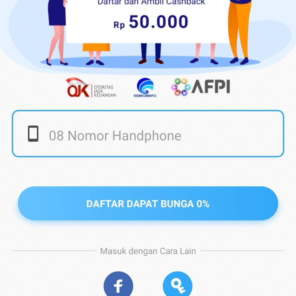 2-RupiahCepat. Aplikasi Plafon dan Tenor Pinjaman